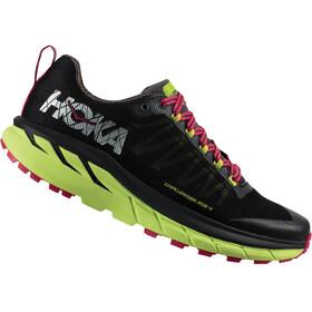 Hoka One One Challenger ATR 4 Running Shoes Women black/sharp green